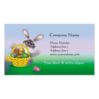 Easter Bunny Business Card