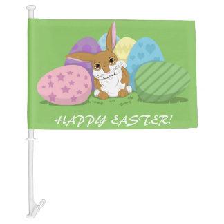 Easter Bunny Car Flag