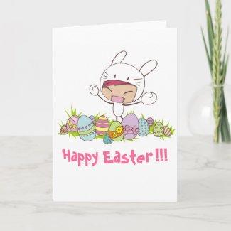 Easter Bunny Card card