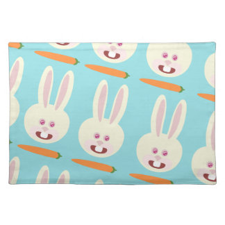 Easter Bunny Carrot Time Placemat