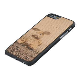 Easter Bunny Carved Maple iPhone 6 Slim Case