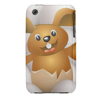 easter bunny iPhone 3 cover