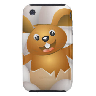 easter bunny iPhone 3 tough cover
