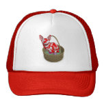 Easter Bunny Cat Mesh Hat