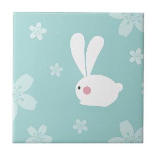 Easter Bunny Ceramic Tile