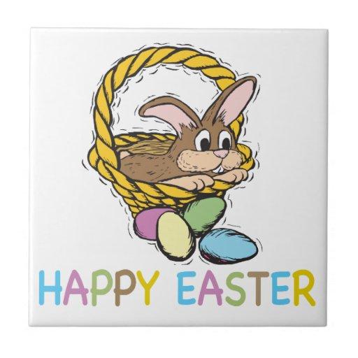 Easter Bunny Ceramic Tiles