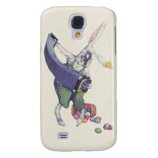 Easter Bunny Chick Basket Colored Eggs Galaxy S4 Cover