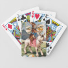 Easter Bunny Chick Colored Painted Egg Goat Bicycle Playing Cards