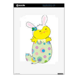 Easter Bunny Chick Decal For The iPad 2