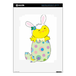 Easter Bunny Chick iPad 3 Decal