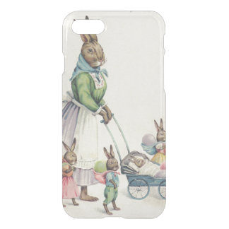 Easter Bunny Children Colored Egg iPhone 7 Case