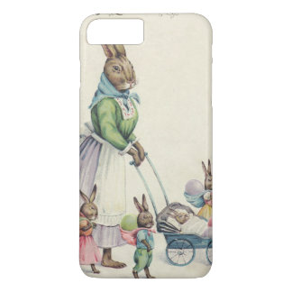 Easter Bunny Children Colored Egg iPhone 8 Plus/7 Plus Case