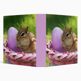 "Easter Bunny Chipmunk 1.5"" Photo Album Binder"