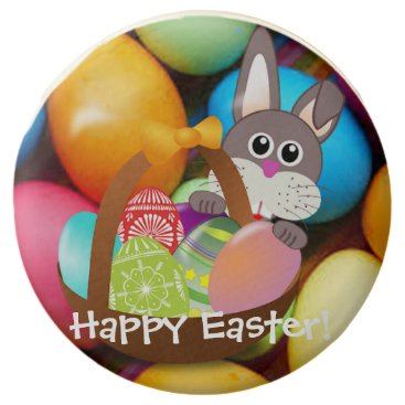 Hawaiian Themed Easter Bunny Chocolate Covered Oreo