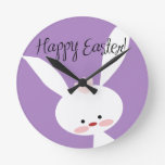 Easter Bunny Clock