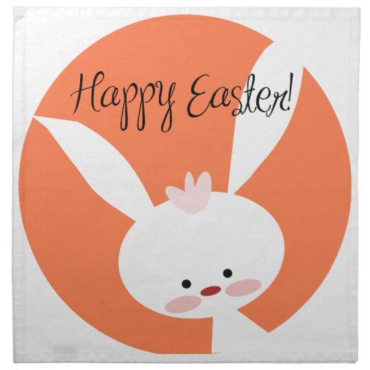 Easter Bunny Cloth Napkin