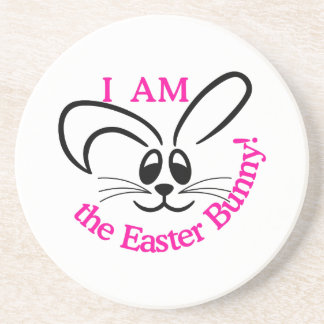 Easter Bunny Drink Coaster