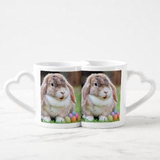 Easter Bunny Coffee Mug Set