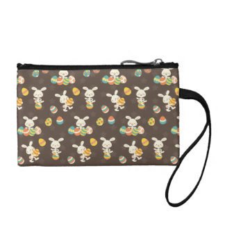 Easter bunny coin wallet