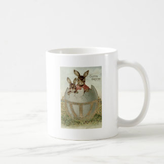 Easter Bunny Colored Egg Farm Coffee Mug