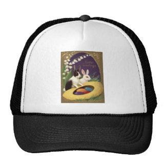 Easter Bunny Colored Egg Lily Of The Valley Trucker Hat