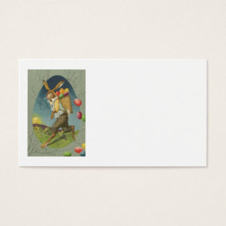 Easter Bunny Colored Egg Sun Business Card