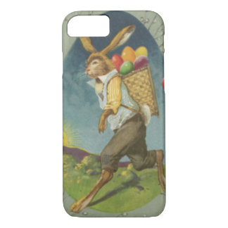 Easter Bunny Colored Egg Sun iPhone 8/7 Case