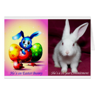 Easter Bunny / Commitment Card