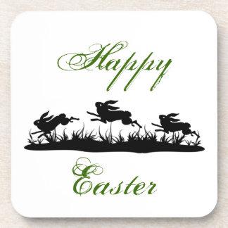 Easter Bunny Cork Coaster
