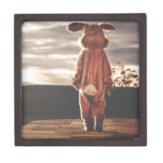 Easter Bunny Costume Premium Keepsake Box