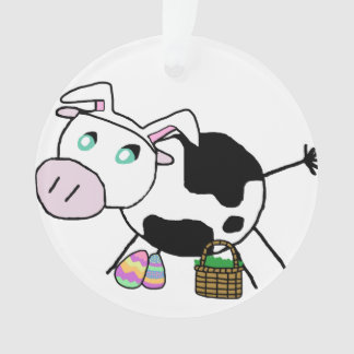 Easter Bunny Cow