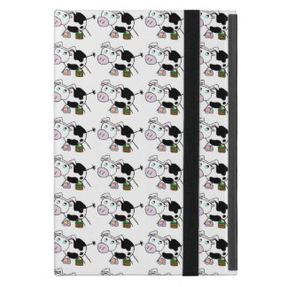 Easter Bunny Cow Cover For iPad Mini