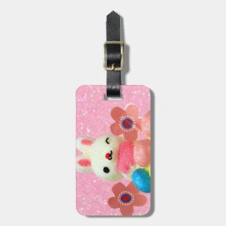 Easter Bunny cupcake Bag Tag