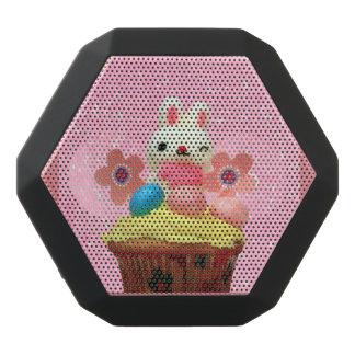 Easter Bunny cupcake Black Bluetooth Speaker