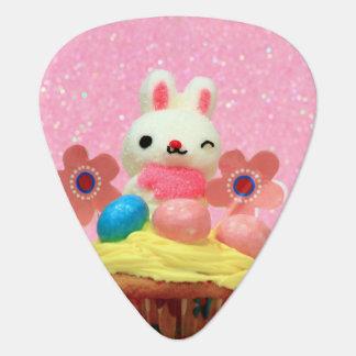 Easter Bunny cupcake Guitar Pick