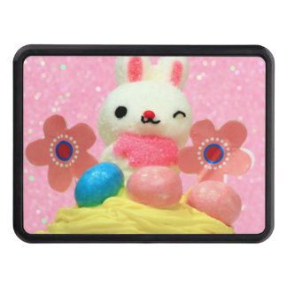 Easter Bunny cupcake Trailer Hitch Cover