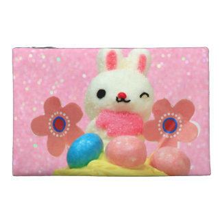 Easter Bunny cupcake Travel Accessory Bag