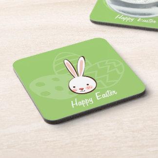 Easter Bunny Custom Cork Coasters