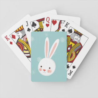 Easter Bunny Custom Playing Cards
