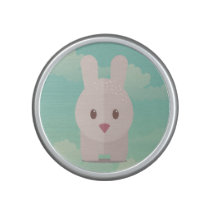 Easter Bunny Cute Animal Nursery Art Illustration Bluetooth Speaker