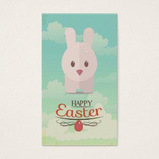 Easter Bunny Cute Animal Nursery Art Illustration Business Card
