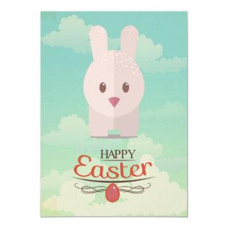 Easter Bunny Cute Animal Nursery Art Illustration Card