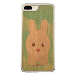 Easter Bunny Cute Animal Nursery Art Illustration Carved iPhone 8 Plus/7 Plus Case