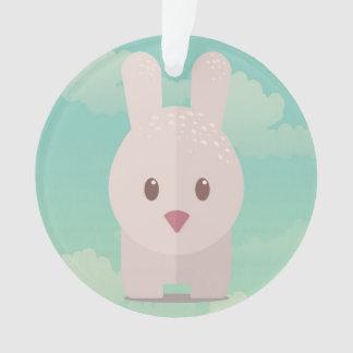 Easter Bunny Cute Animal Nursery Art Illustration Ornament