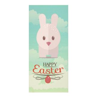 Easter Bunny Cute Animal Nursery Art Illustration Rack Card