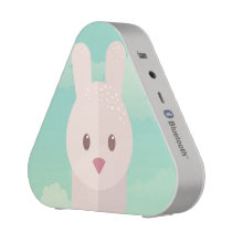 Easter Bunny Cute Animal Nursery Art Illustration Speaker