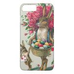 Easter Bunny Dad Child Rose Basket Egg iPhone 7 Plus Case