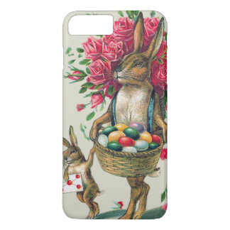 Easter Bunny Dad Child Rose Basket Egg iPhone 7 Plus Case