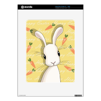 Easter bunny decal for iPad