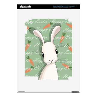 Easter bunny decal for iPad 3